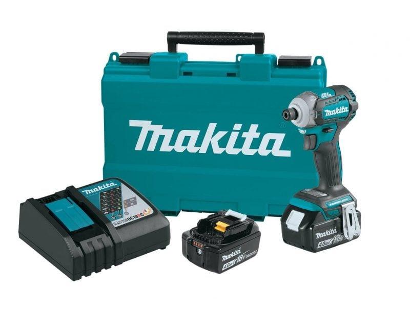 Makita Launches XDT12M 18V Brushless Impact Driver 1
