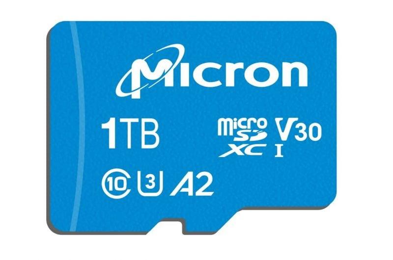 Micron Announces Massive 1TB c200 microSD Card 1