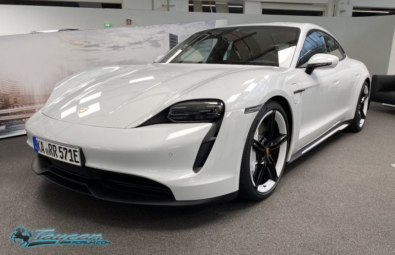 First Porsche Taycan 4S Delivery Confirmed 1