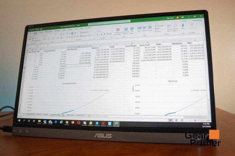 Asus ZenScreen Review (MB16ACM) 7