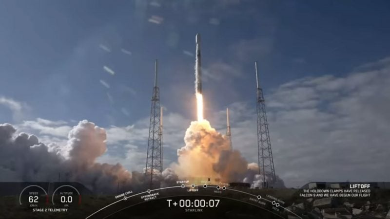 SpaceX Starlink Launch 5