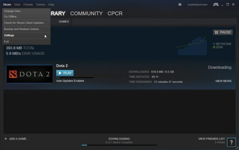 How to Speed Up Steam Downloads 2