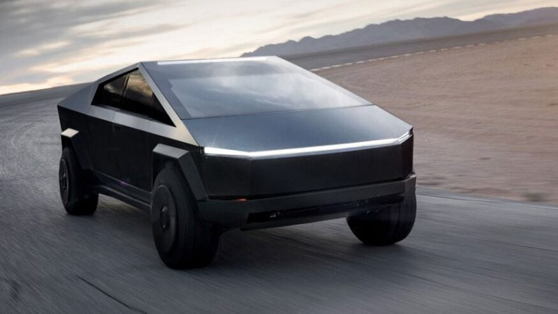 Tesla Cybertruck in Matte Black Confirmed by Elon Musk 2