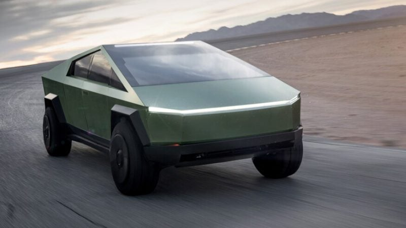 Tesla Cybertruck in Matte Black Confirmed by Elon Musk 4