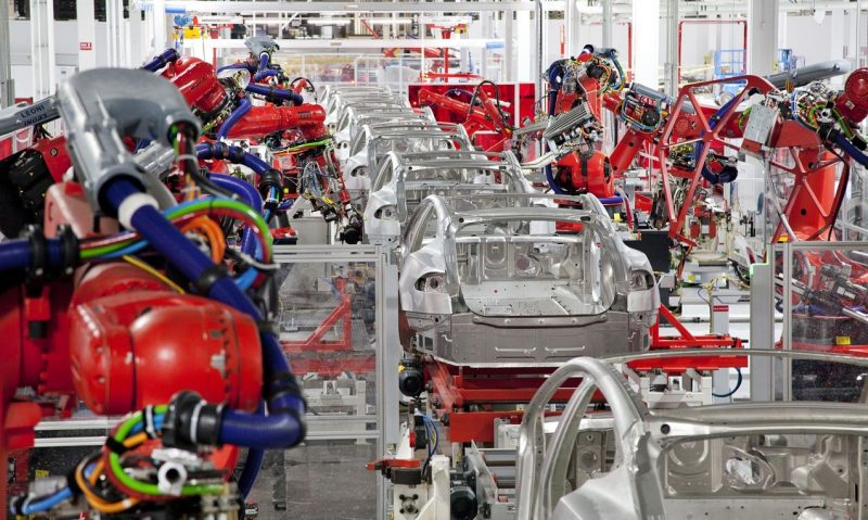 Tesla Fremont Factory vs Shanghai Gigafactory Manufacturing Flow Suggests Tesla is Learning 1
