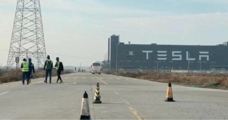Tesla Giga Shanghai Resumes Production
