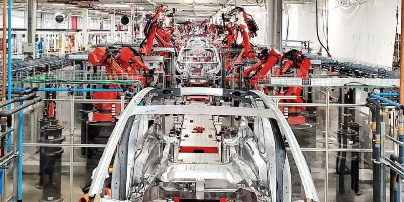 Tesla Gigafactory Shanghai Resumes Production 1