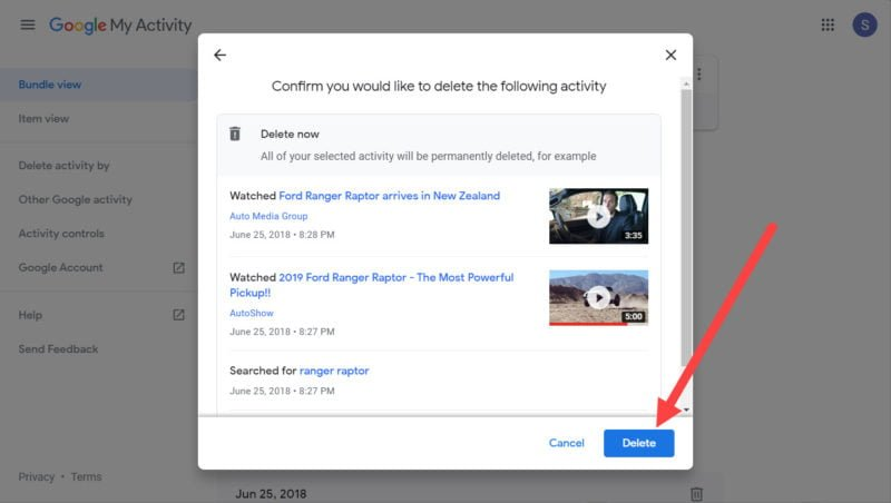 Google My Activity: What it is and How to Delete It 5