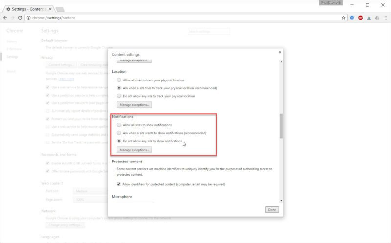 How to Disable Chrome Notifications in Windows 10 5