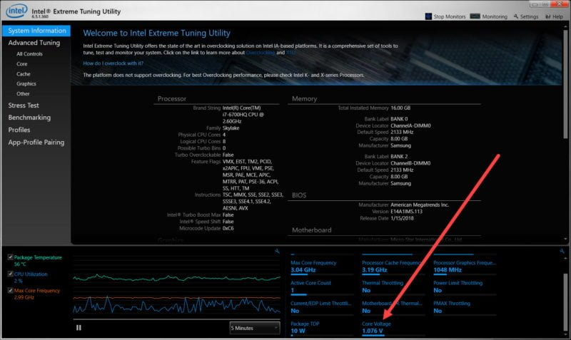How to Undervolt Your CPU: Boost Laptop Battery Life, Reduce Heat and Quiet Your Fans 4