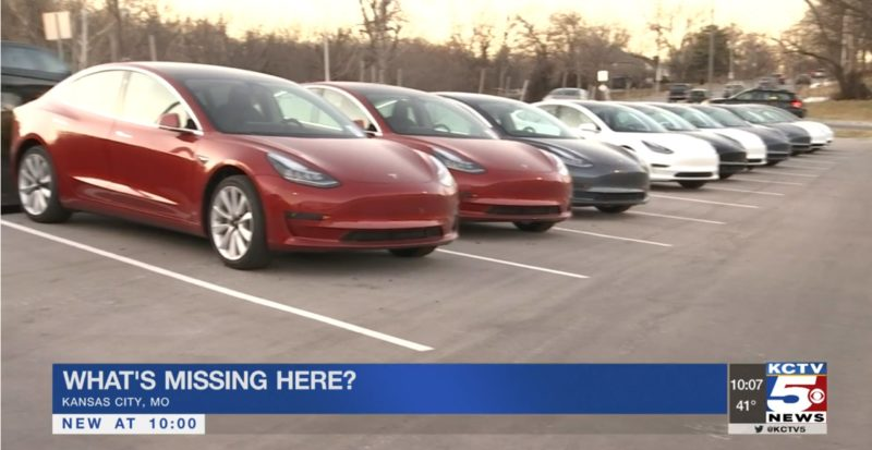 Tesla Banned at KC Auto Show, So Tesla Owners Hold Their Show Outside 1