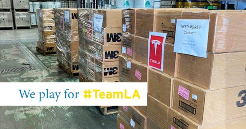 Tesla Delivers 50,000+ N95 Masks, 1,000+ Ventilators to Fight Coronavirus Outbreak 1